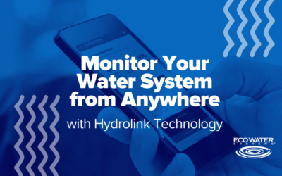 Monitor Your Water System from Anywhere with HydroLink® Technology